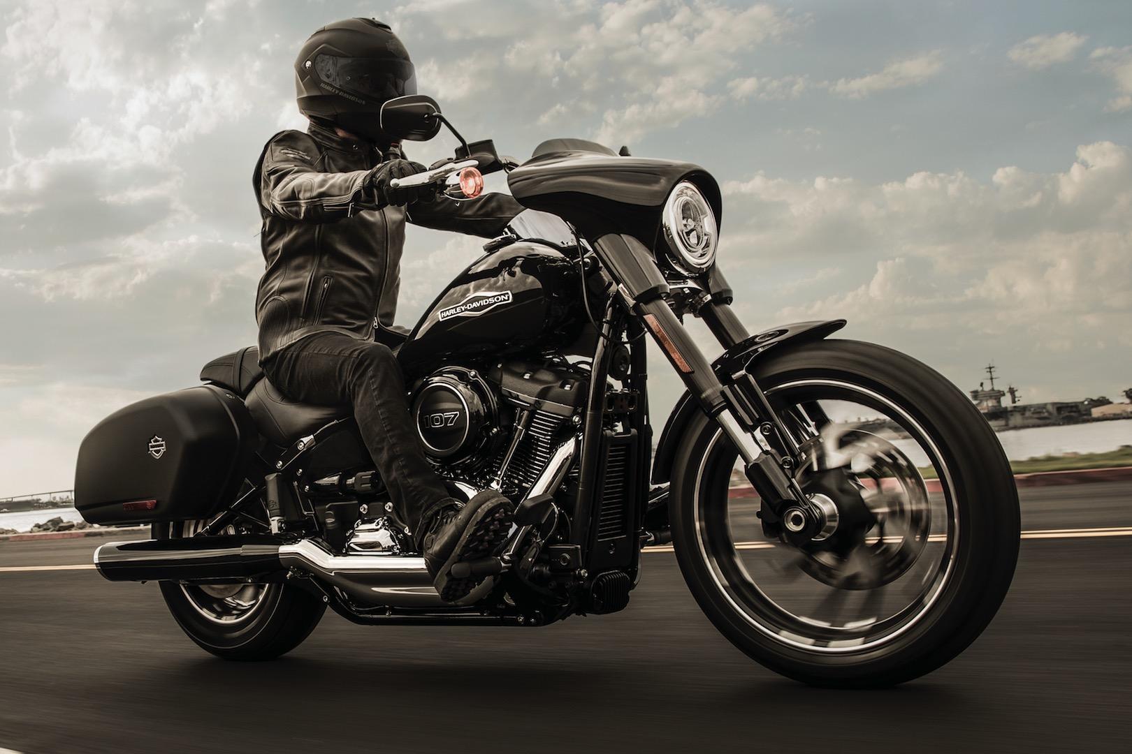 Préférence Harley-Davidson Sport Glide, ecco come è fatta ZV73