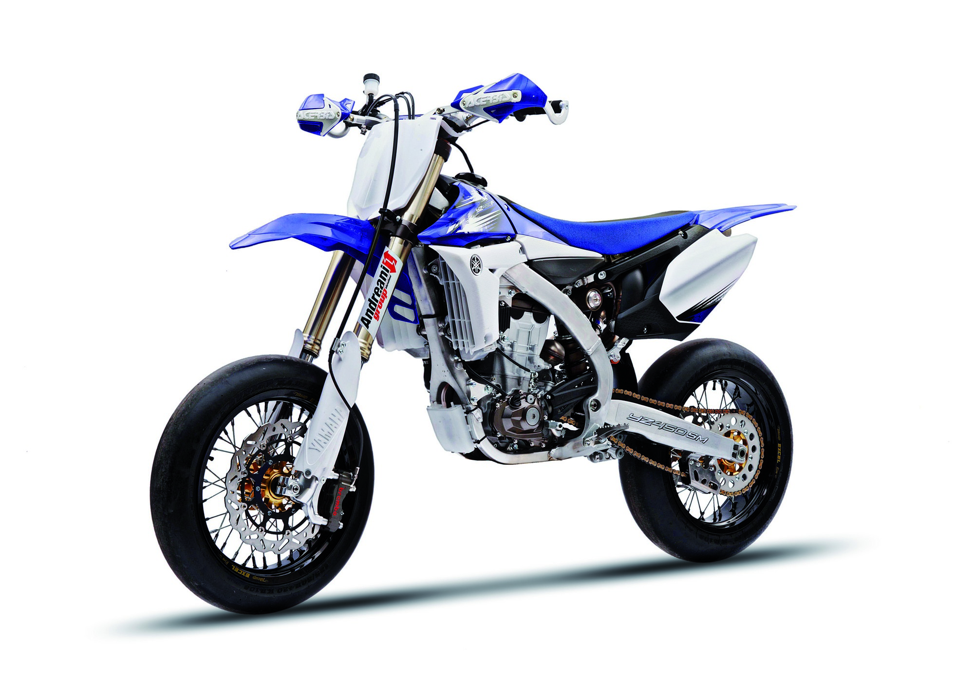 yamaha yz450sm raffinata motard da pista. Black Bedroom Furniture Sets. Home Design Ideas