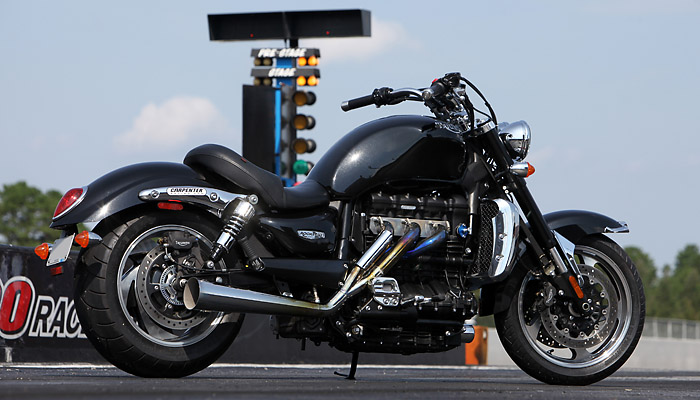 triumph rocket iii da 240 cv  compratevi il kit carpenter