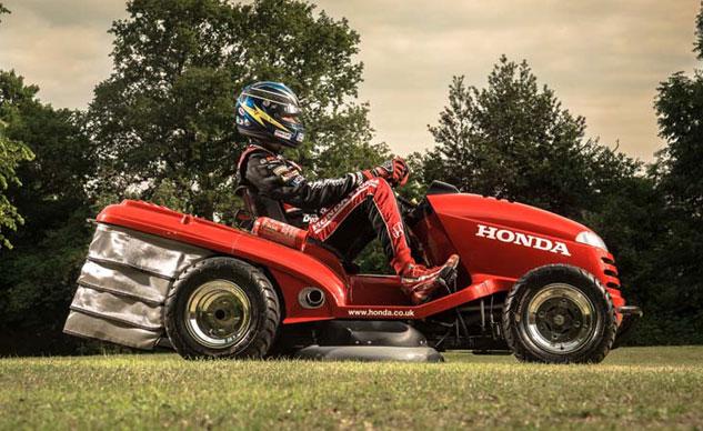 Honda Il Tosaerba Pi 249 Veloce Del Mondo