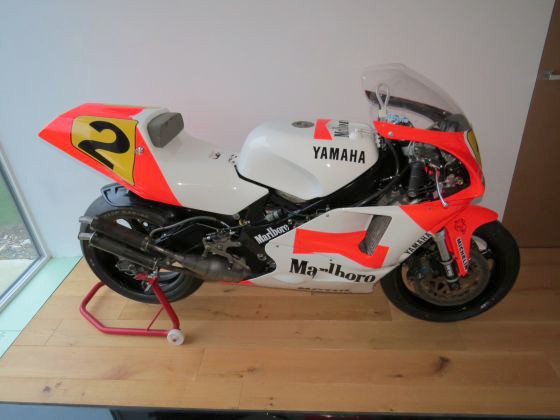 In Vendita La Yamaha Yzr 500 Di Wayne Rainey