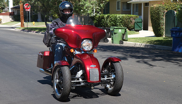 Tilting Motor Works on Goldwing Motor Trike Kit
