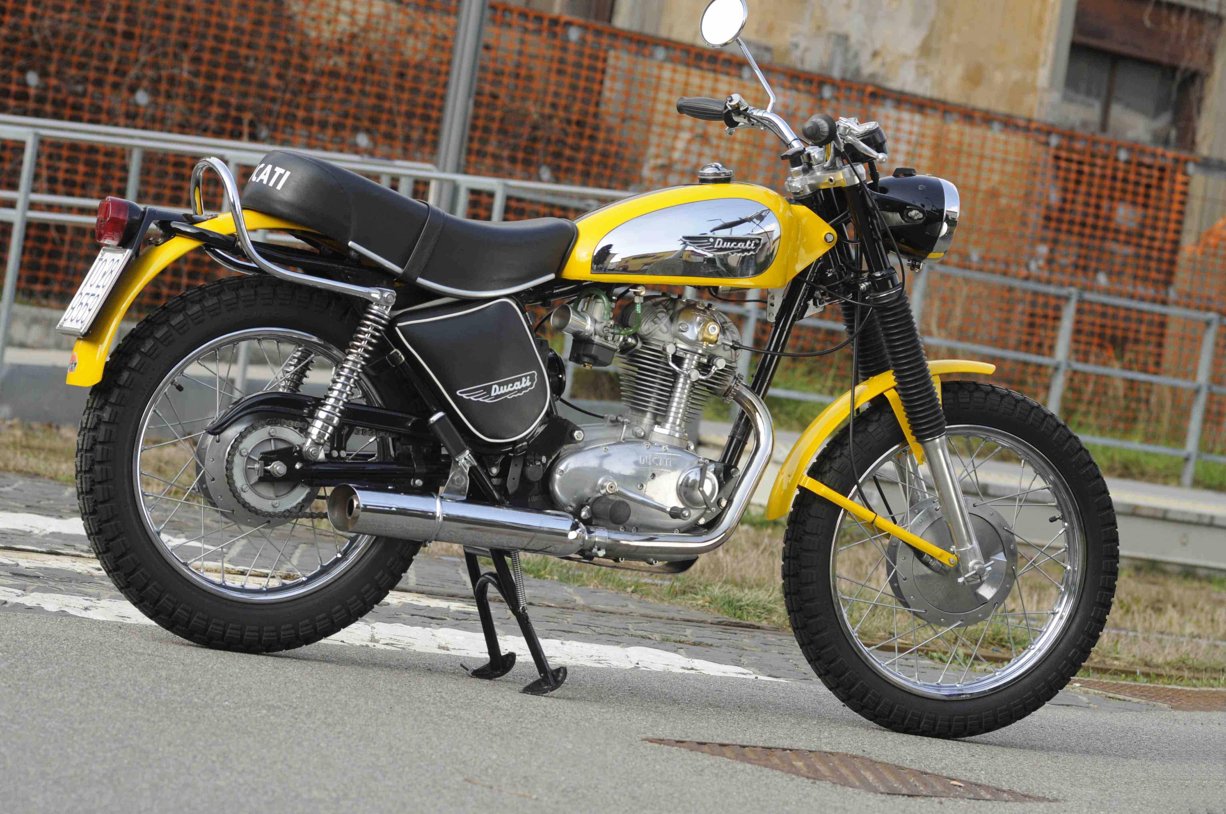 Moto Depoca Ducati Scrambler Un Successo Anche 40 Anni Fa