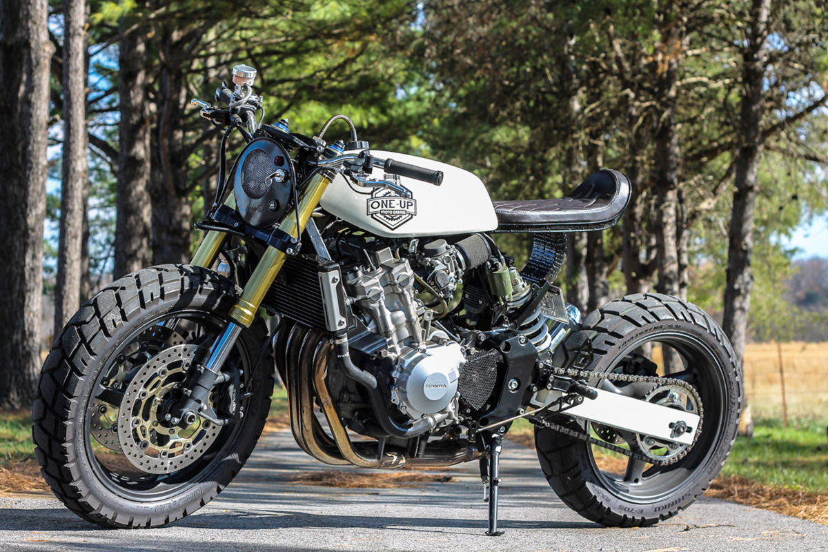Special Honda Cb600f By One Up Moto Garage