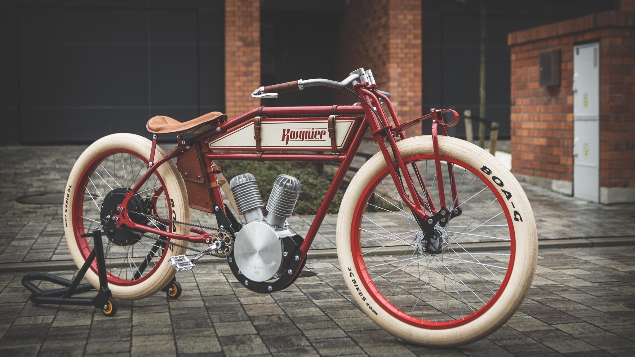 Kosynier E Bike Retr 242 In Cerca Di Futuro