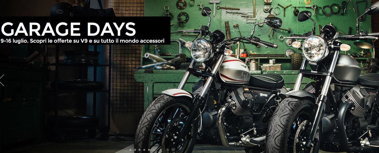 Garage days moto guzzi test v9 bobber e roamer for Gad garage v9