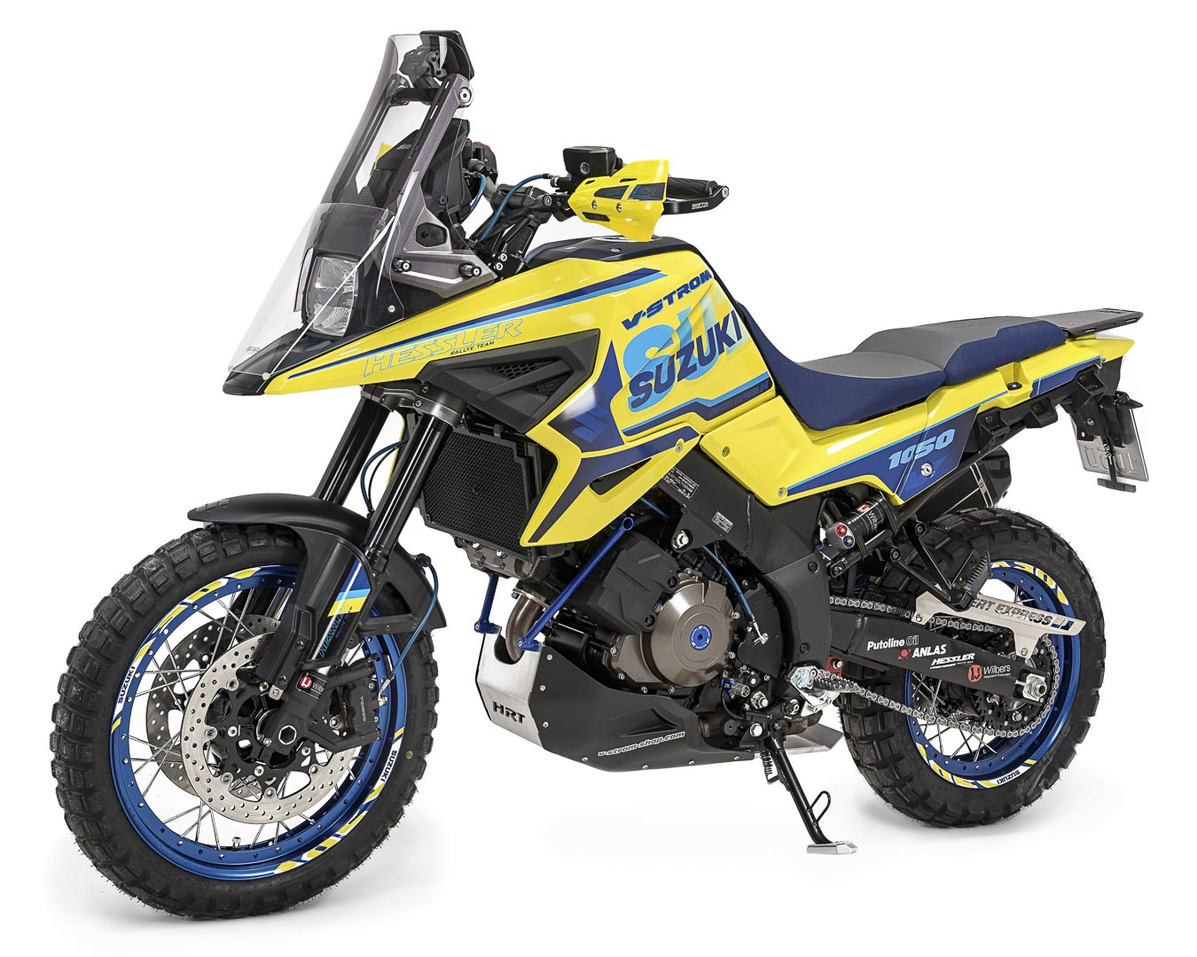Modelspecific rear enlargement black for Suzuki V-Strom