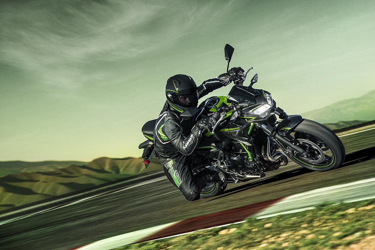 De nouveaux coloris pour la Kawasaki Z650 2022