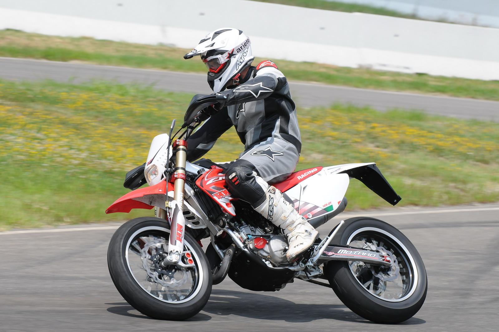hm crm 125 derapage competition rr 2t 2011 prezzo  scheda