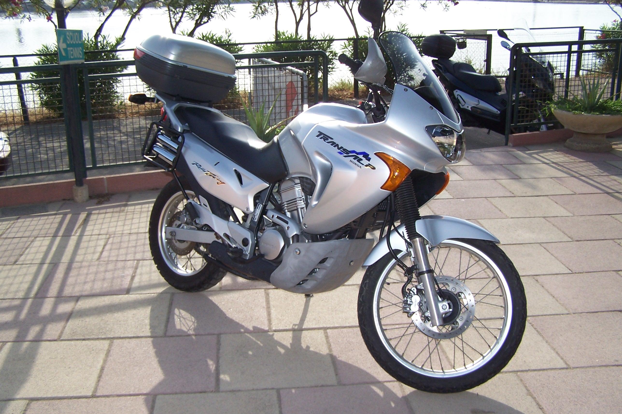 Prova Honda Transalp Xl 650 V 2000 2006 Insellait