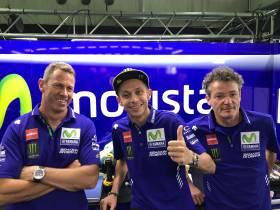 Valentino Rossi ha l'ok dei medici, corre ad Aragon!