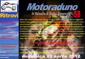 Motoraduno in ricordo di Simoncelli