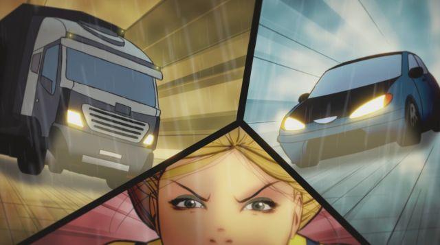 Goodhero il cartone animato sulla sicurezza stradale