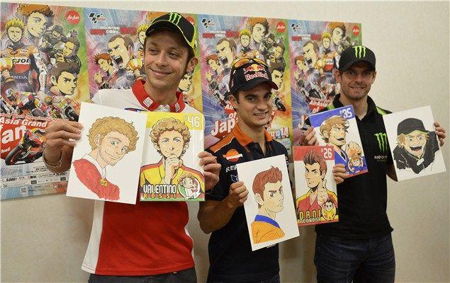 Sfida Manga In Motogp