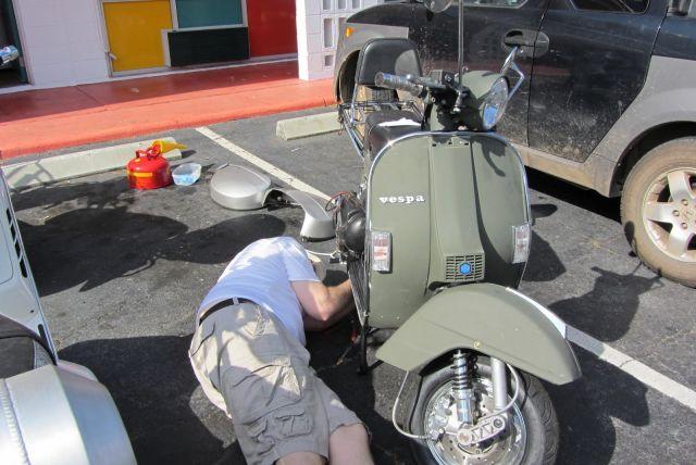 come fare partire uno scooter con batteria