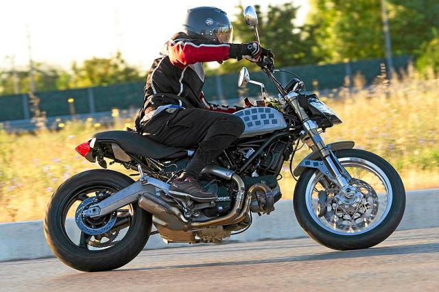 Ducati Scrambler, altra foto rubata