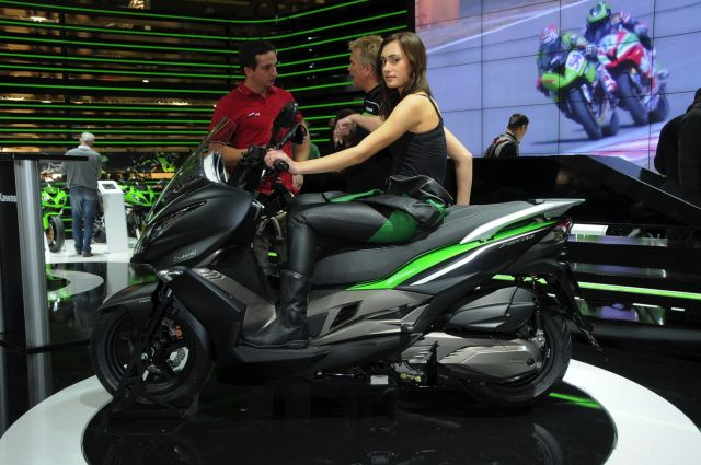 Kawasaki Scooter Jprezzo
