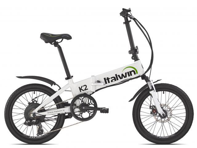 Italwin K2 Bici Elettrica Pieghevole Per Le Salite