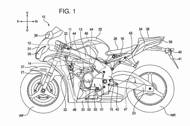 Honda CBR 1000 RR: arriva un motore V4?