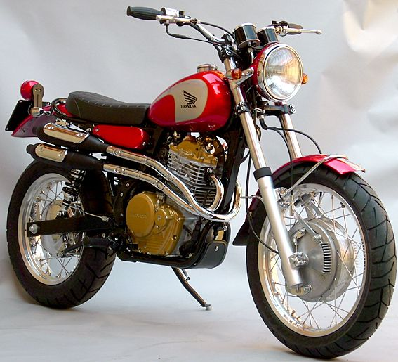 honda prepara una moto scrambler vintage. Black Bedroom Furniture Sets. Home Design Ideas