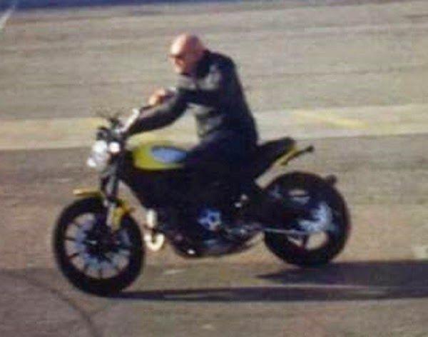 Ducati Scrambler – Arriva un'altra foto rubata, livrea gialla e cromature