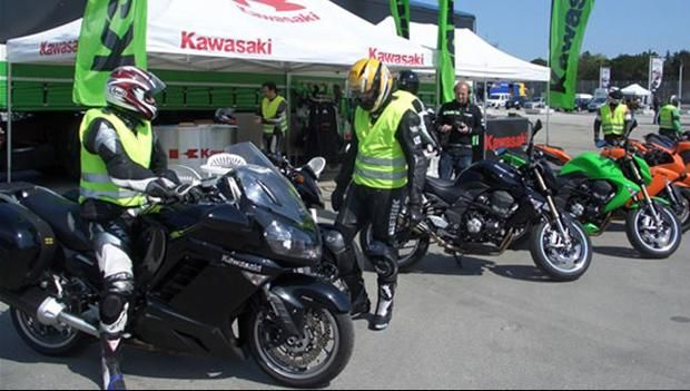 Motoraduno dello Stelvio 2014, test ride Kawasaki questo weekend