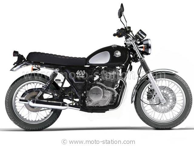 Mash 400 Four Hundred 2015: pronta una anti Yamaha SR400