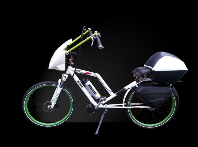"PM Zero Free Road, l'e-bike ""sdraiata"""