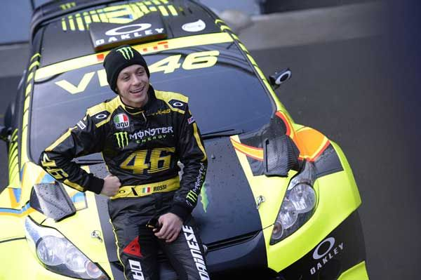 Monza Rally Show 2014: video sorpasso incredibile di Valentino Rossi