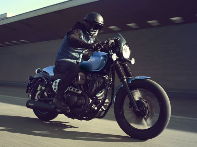 yamaha xv 950 racer la special diventa di serie video. Black Bedroom Furniture Sets. Home Design Ideas