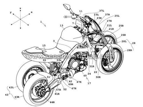 honda nc 750 sar anche moto a quattro ruote. Black Bedroom Furniture Sets. Home Design Ideas