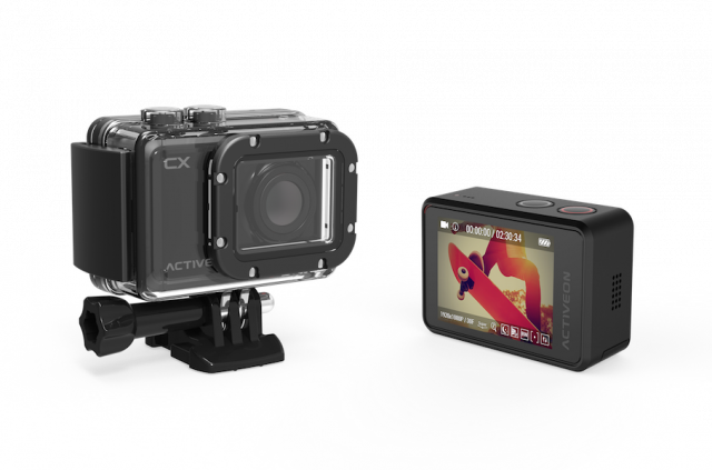 ACTIVEON CX: l'action camera ultra-compatta