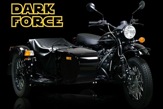 Star Wars - Ural Dark Force: il sidecar di Darth Vader con spada laser