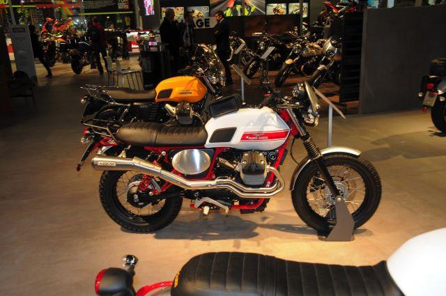 EICMA 2015, Moto Guzzi V7 II Stornello, dettagli tecnici