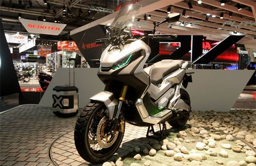 EICMA 2015 - Honda City Adventure Concept, lo scooter crossover