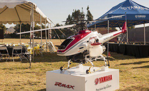Elicottero Yamaha : Yamaha non è solo moto ecco l rmax elicottero drone