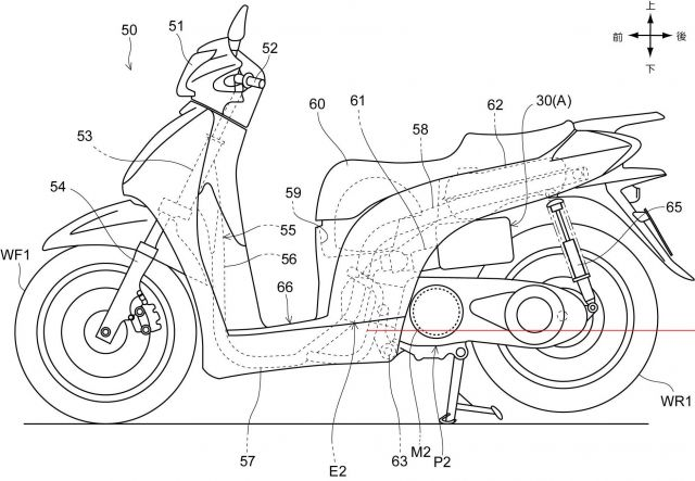Honda SH 300, allo studio un motore ibrido?