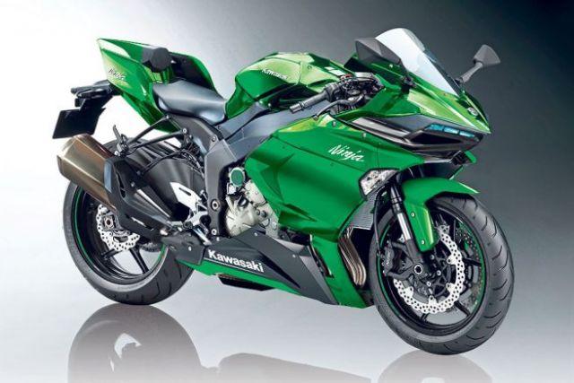 Kawasaki La Moto Turbo Sarà Così