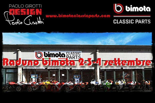 Bimota Classic Parts: in raduno il primo weekend di settembre