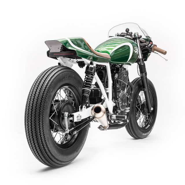Mash Scrambler by Wrench Kings - Verde, veloce, piccola, stilosa