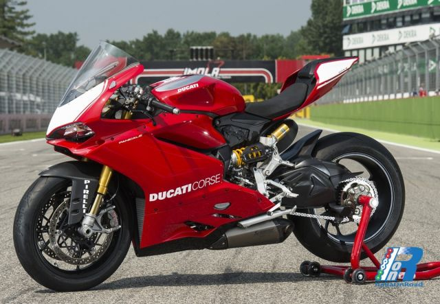 Ducati Panigale Green