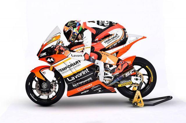 Moto2, Forward Racing con Marini e Baldassarri punta a vincere