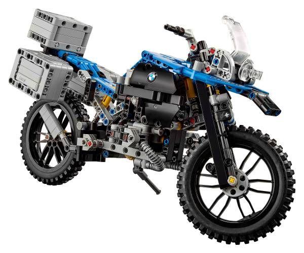 BMW R 1200 GS Adventure by Lego Technic: il kit è un due in uno!