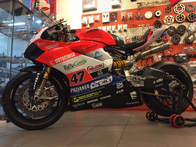 CIV 2017, Eddi La Marra torna in gara con la Ducati di Motocorsa Racing