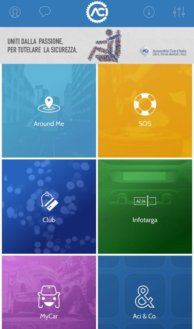 ACI Space, nuova app per una migliore viabilità