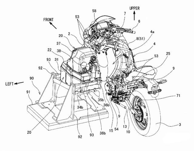 Kawasaki: una Ninja elettrica con batterie a smontaggio rapido
