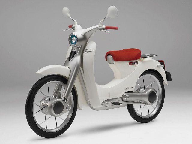 Honda Nel 2018 Arriva Uno Scooter Elettrico