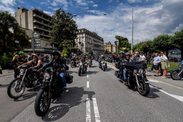 Lugano: 100.000 bikers all'H.O.G Rally