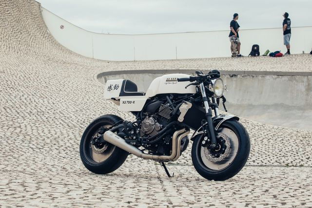 Fuoriserie: XSR 700 Kando by Cafe Racer SSpirit
