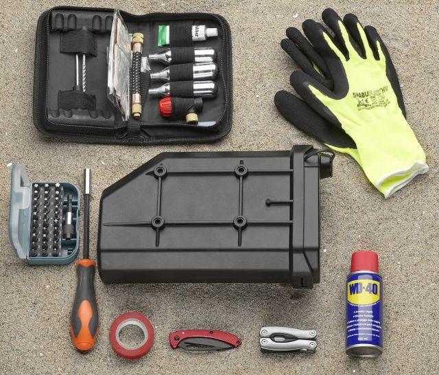 Givi S250 Tool Box: la cassetta degli attrezzi nascosta
